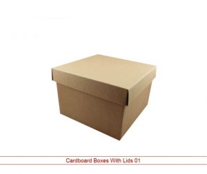 Cardboard Boxes with Lid