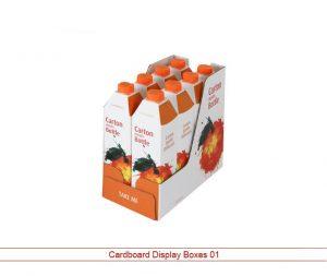 Custom Cardboard Display Boxes 01