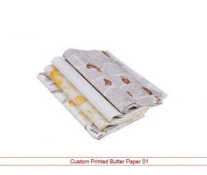 Custom Printed Butter Paper 01