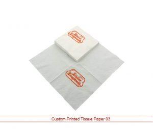 Custom Printed Tissue Paper 03