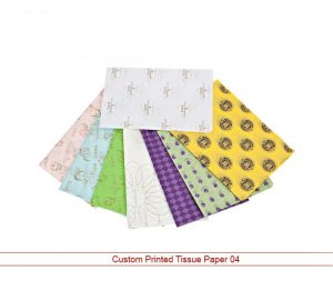 Custom Printed Tissue Paper 04