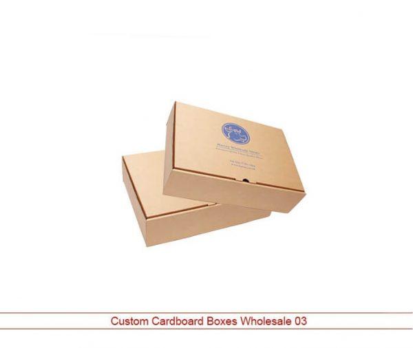 printed cardboard boxes wholesale
