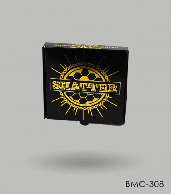 Cannabis shatter box packaging