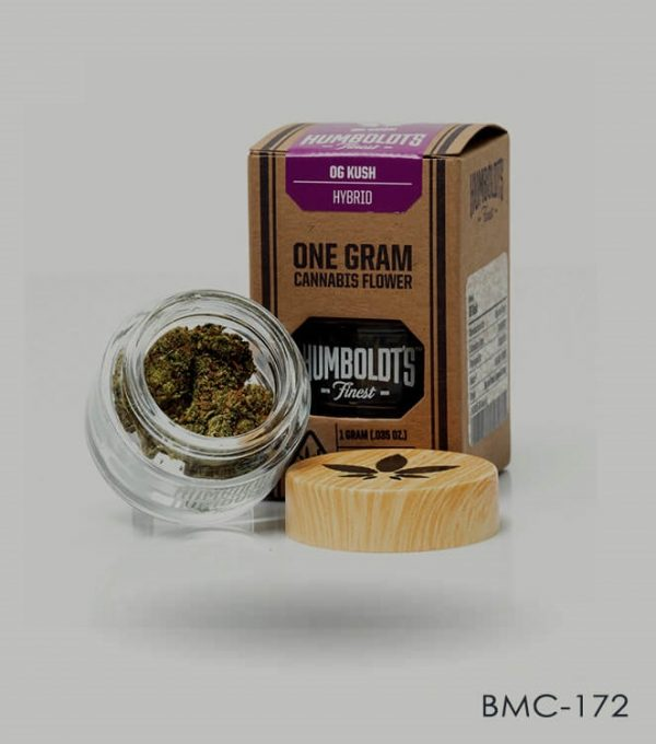 Custom Cannabis Flower Boxes