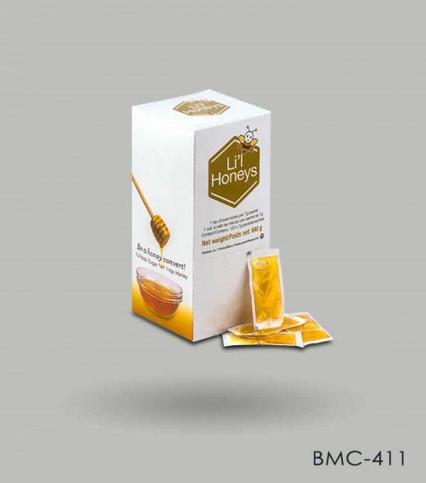 Custom Honey sachet boxes