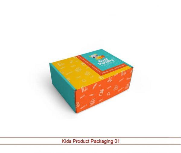 Custom Kids Product Packaging