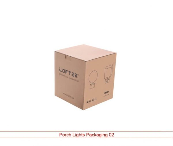 Custom Porch Lights Boxes
