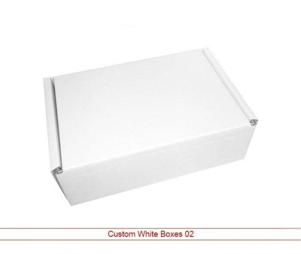 Custom White Boxes 021