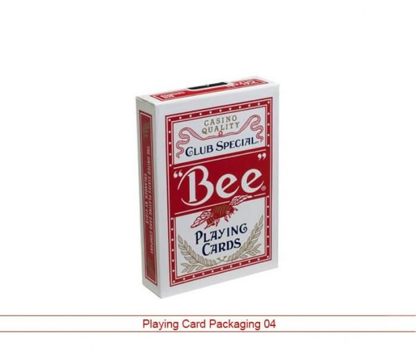 Custom playing card packaging