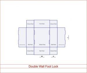 Double Wall Foot Lock 04