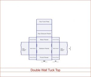 Double Wall Tuck and Top
