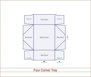 Four Corner Tray 03 3