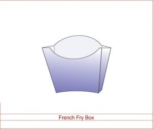 French Fry Box 01