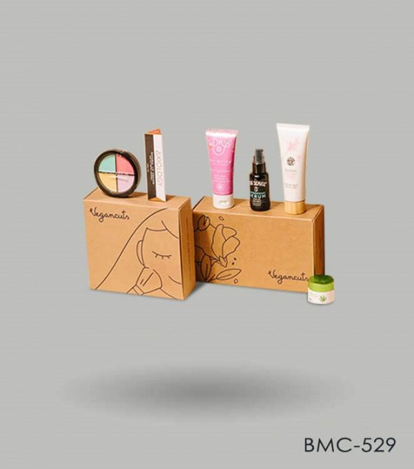 Monthly makeup subscription box Packaging