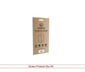 Screen Protector boxes wholesale