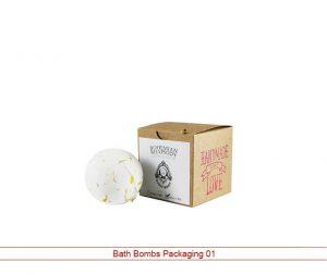 bath bomb packing