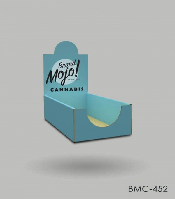 custom Cannabis counter display boxes