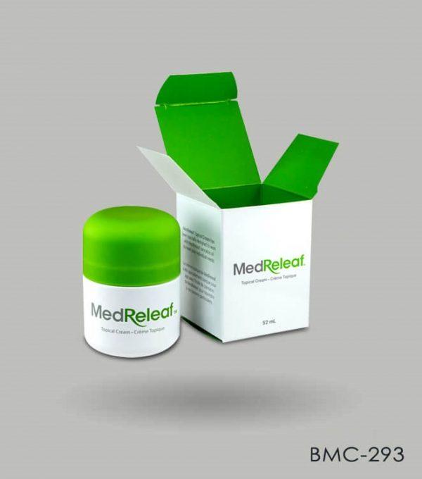 custom Cannabis topical packaging