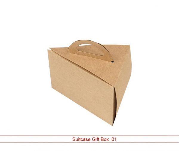 suitcase gift box